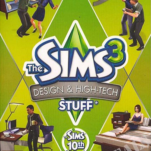 The Sims 3 Design and Hi-Tech Stuff