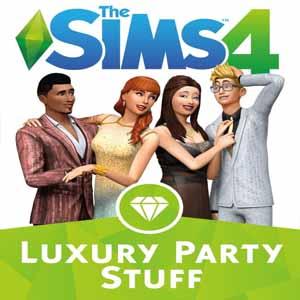 Sims 4 Objets Soirées de Luxe