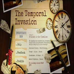Acheter The Temporal Invasion Clé Cd Comparateur Prix