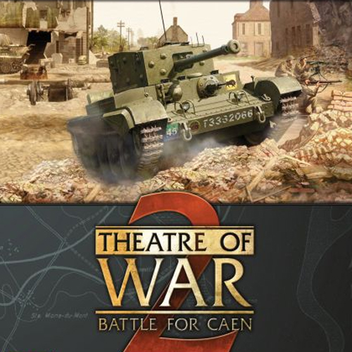 Acheter Theatre of War 2 Battle for Caen Clé Cd Comparateur Prix
