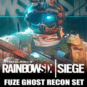 Acheter Tom Clancys Rainbow Six Siege Fuze Ghost Recon Set Clé Cd Comparateur Prix