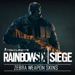 Acheter Tom Clancys Rainbow Six Siege Zebra Weapon Skins Xbox One Code Comparateur Prix