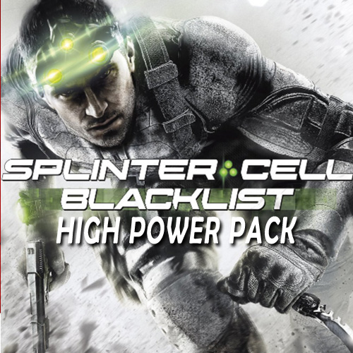 Acheter Tom Clancys Splinter Cell Blacklist High Power Pack Clé Cd Comparateur Prix