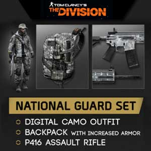 Acheter Tom Clancys The Division National Guard Gear Set Clé Cd Comparateur Prix