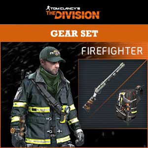 Tom Clancys The Division NY Firefighter Gear Set