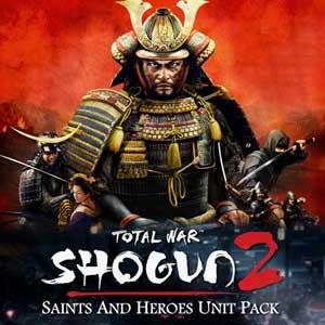 Acheter Total War SHOGUN 2 Saints and Heroes Unit Pack Clé Cd Comparateur Prix
