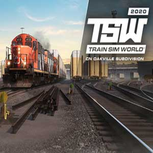 Train Sim World Canadian National Oakville Subdivision Hamilton Oakville Route Add-On