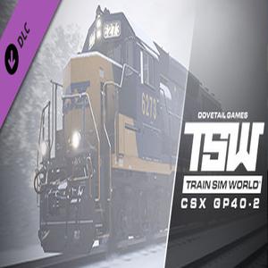 Train Sim World CSX GP40-2