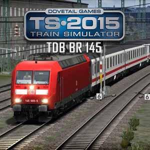 Train Simulator 2015 DB BR 145 Loco Add-On