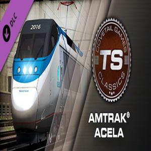 Acheter Train Simulator Amtrak Acela Express EMU Clé CD Comparateur Prix