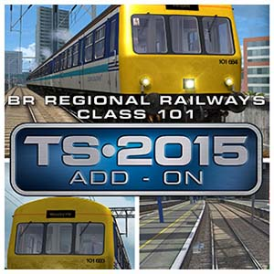 Train Simulator BR Regional Railways Class 101 DMU Add-On