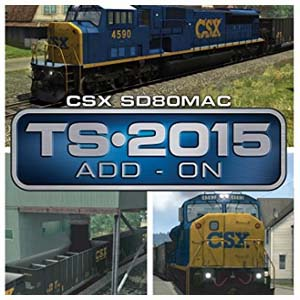 Train Simulator CSX SD80MAC Loco Add-On