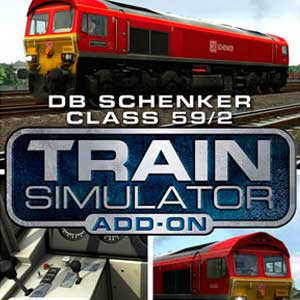 Acheter Train Simulator DB Schenker Class 59/2 Loco Add-On Clé Cd Comparateur Prix