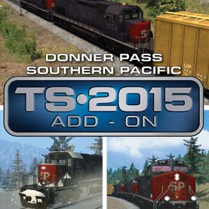 Acheter Train Simulator Donner Pass Southern Pacific Route Add-On Clé Cd Comparateur Prix