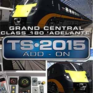Acheter Train Simulator Grand Central Class 180 Adelante DMU Add-On Clé Cd Comparateur Prix