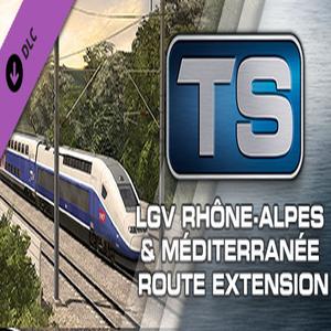 Train Simulator LGV Rhone Alpes and Mediterranee Route Extension Add On