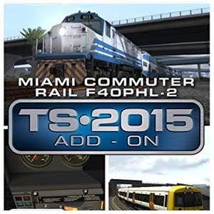 Acheter Train Simulator Miami Commuter Rail F40PHL-2 Loco Add-On Clé Cd Comparateur Prix