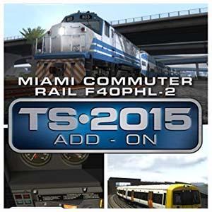 Train Simulator Miami Commuter Rail F40PHL-2 Loco Add-On