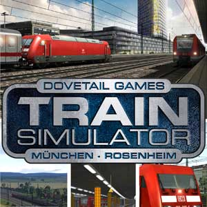 Acheter Train Simulator Munich Rosenheim Route Add-On Clé Cd Comparateur Prix
