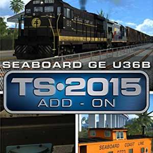 Train Simulator Seaboard GE U36B Loco Add-On