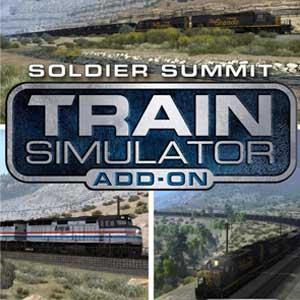 Acheter Train Simulator Soldier Summit Route Add-On Clé Cd Comparateur Prix
