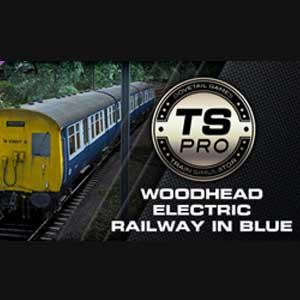 Train Simulator Woodhead Electric Railway in Blue Route Add-On