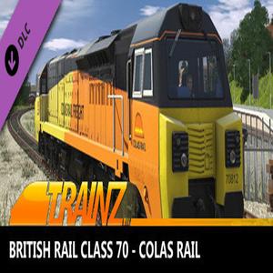 Trainz 2019 British Rail Class 70 Colas Rail