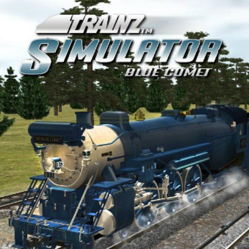 Trainz Simulator Blue Comet
