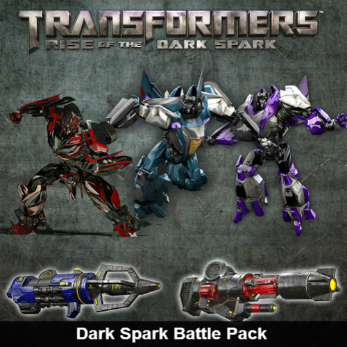 Transformers Dark Spark Battle Pack