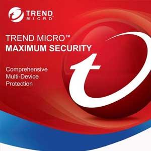 Acheter Trend Micro Maximum Security 2020 Clé CD au meilleur prix
