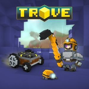 Trove Dynomighty Miner Pack