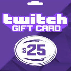 Carte Cadeau Twitch Comparateur de Prix