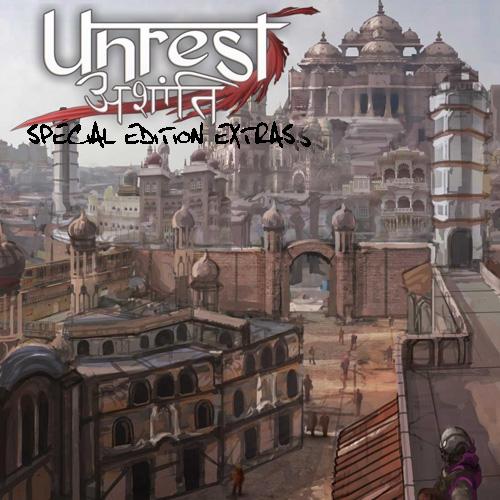 Unrest Special Edition Extras