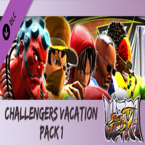 USF4 Challengers Vacation Pack 1