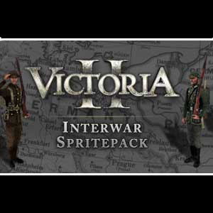 Acheter Victoria 2 Interwar Spritepack Clé Cd Comparateur Prix