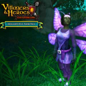 Acheter Villagers and Heroes Midsummers Eve Faerie Pack Clé Cd Comparateur Prix