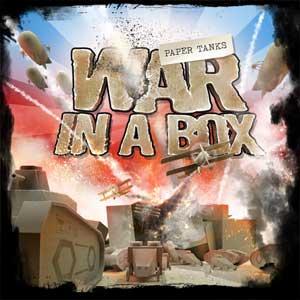 War in a Box Paper Tanks