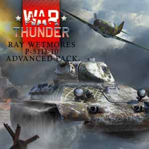 Acheter War Thunder Ray Wetmores P-51D-10 Advanced Pack Clé Cd Comparateur Prix