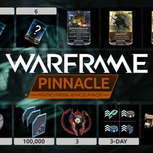 Warframe Rapid Resilience Pinnacle Pack