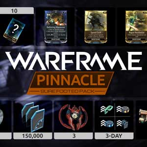 Warframe Sure Footed Pinnacle Pack
