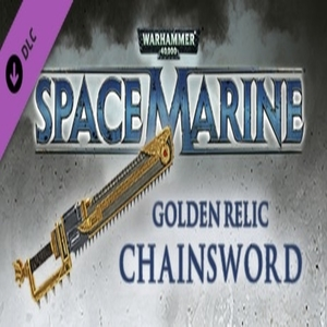 Acheter Warhammer 40 000 Space Marine Golden Relic Chainsword Clé CD Comparateur Prix