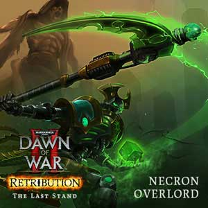 Warhammer 4K Dawn of War 2 Retribution The Last Stand Necron Overlord