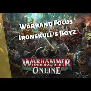 Acheter Warhammer Underworlds Online Warband Ironskull's Boyz Clé CD Comparateur Prix