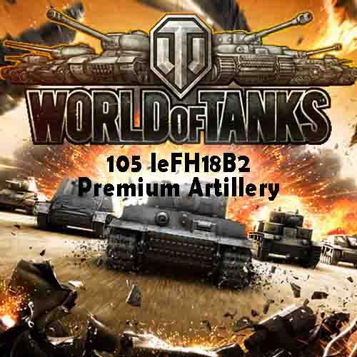 World of Tanks 105 leFH18B2 Premium Artillery