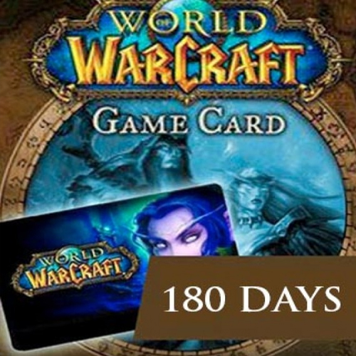 Acheter World of Warcraft 180 Jours Gamecard Code Comparateur Prix