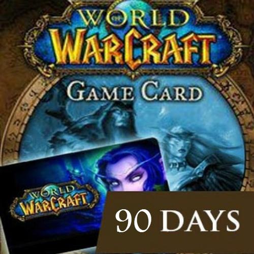 Acheter World of Warcraft 90 Jours EU Gamecard Code Comparateur Prix