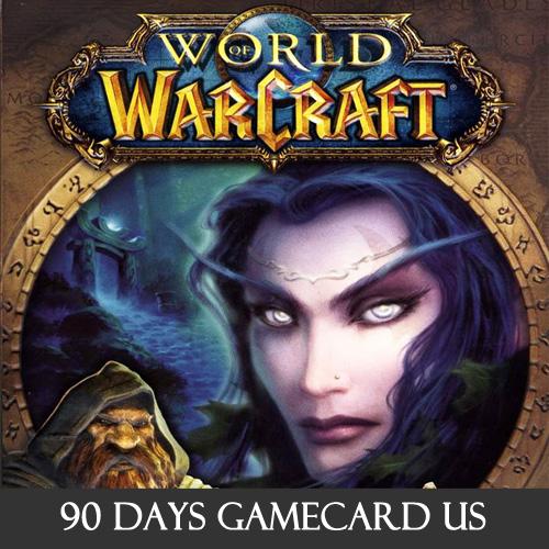 Acheter World Of Warcraft 90 Jours US Carte prépayée comparateur prix