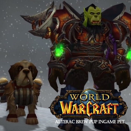 World of Warcraft Alterac Brew Pup Ingame Pet