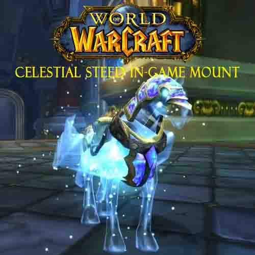 Acheter World Of Warcraft Celestial Steed In-Game Mount Clé Cd Comparateur Prix