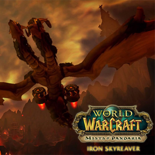 Acheter World Of Warcraft Iron Skyreaver Mount Clé Cd Comparateur Prix